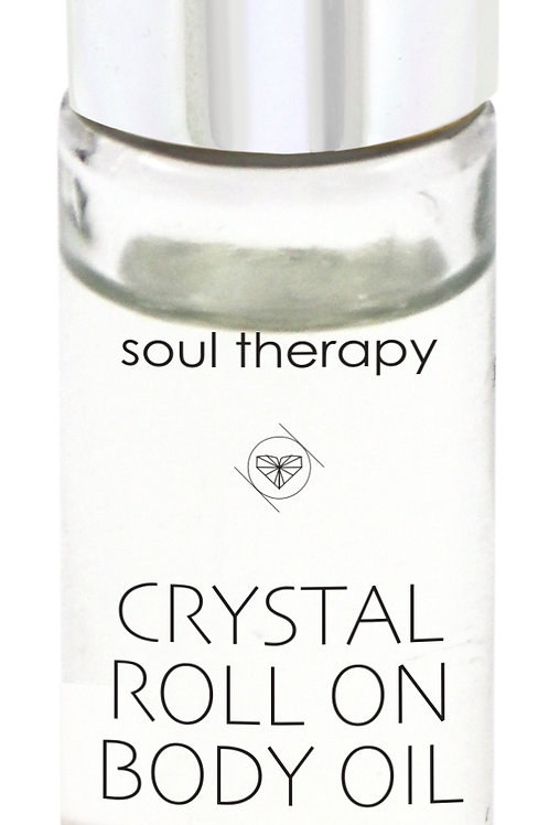 Soul Therapy Crystal Roll On Body Oil