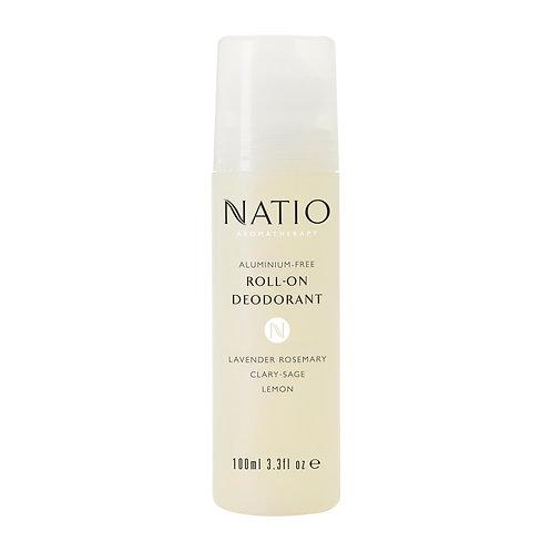 Natio Aluminium-Free Roll On Deodorant