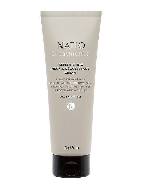 Natio Treatments Replenishing Neck & Decolletage Cream