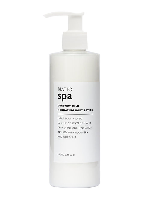 Natio Spa Coconut Milk Hydrating Body Lotion