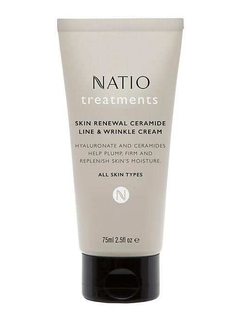 Natio Treatments Skin Renewal Ceramide Line & Wrinkle Cream
