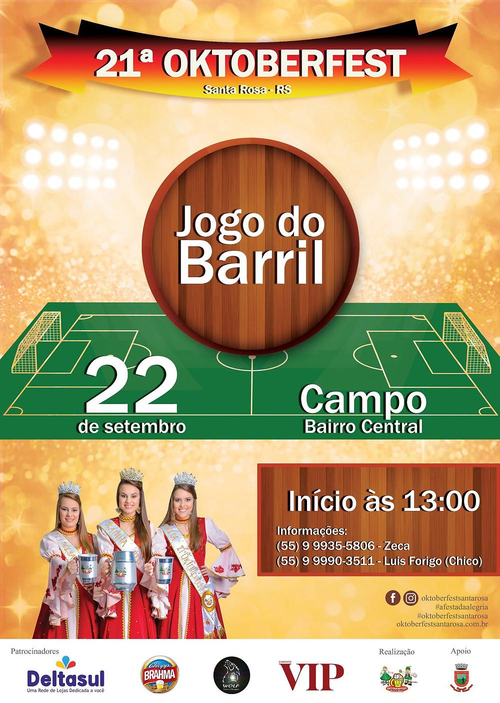 Jogo do Barril 2018