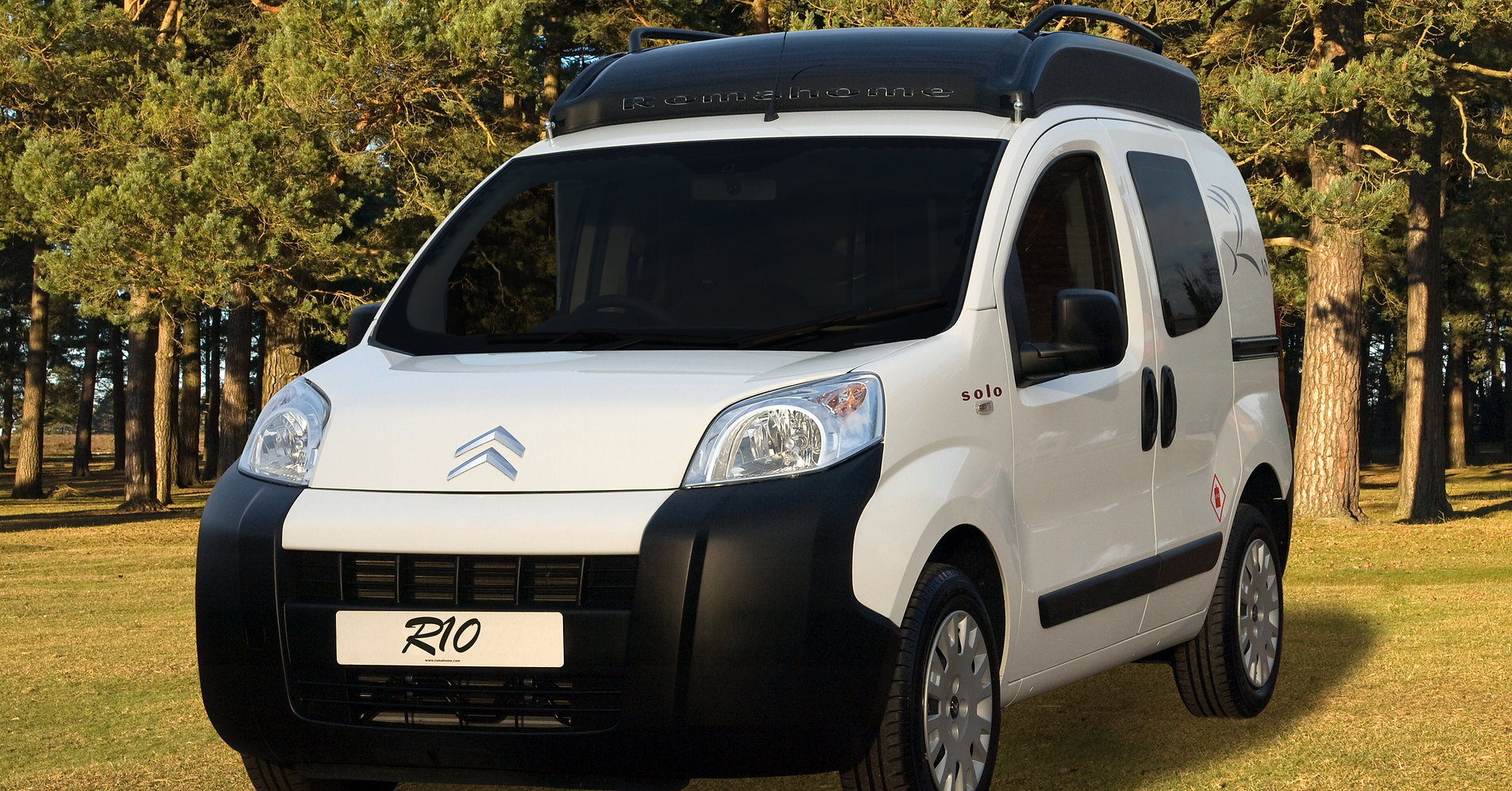 Romahome R10 - small camper vans -