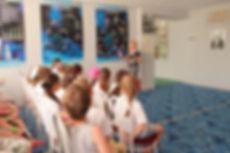 Проведение экскурсии в музее космонавтики для детей детского лагеля Восток