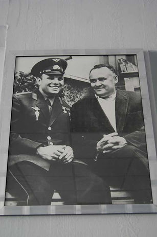 С.П. Королёв с Ю.А. Гагариным,Сочи, май 1961 г.