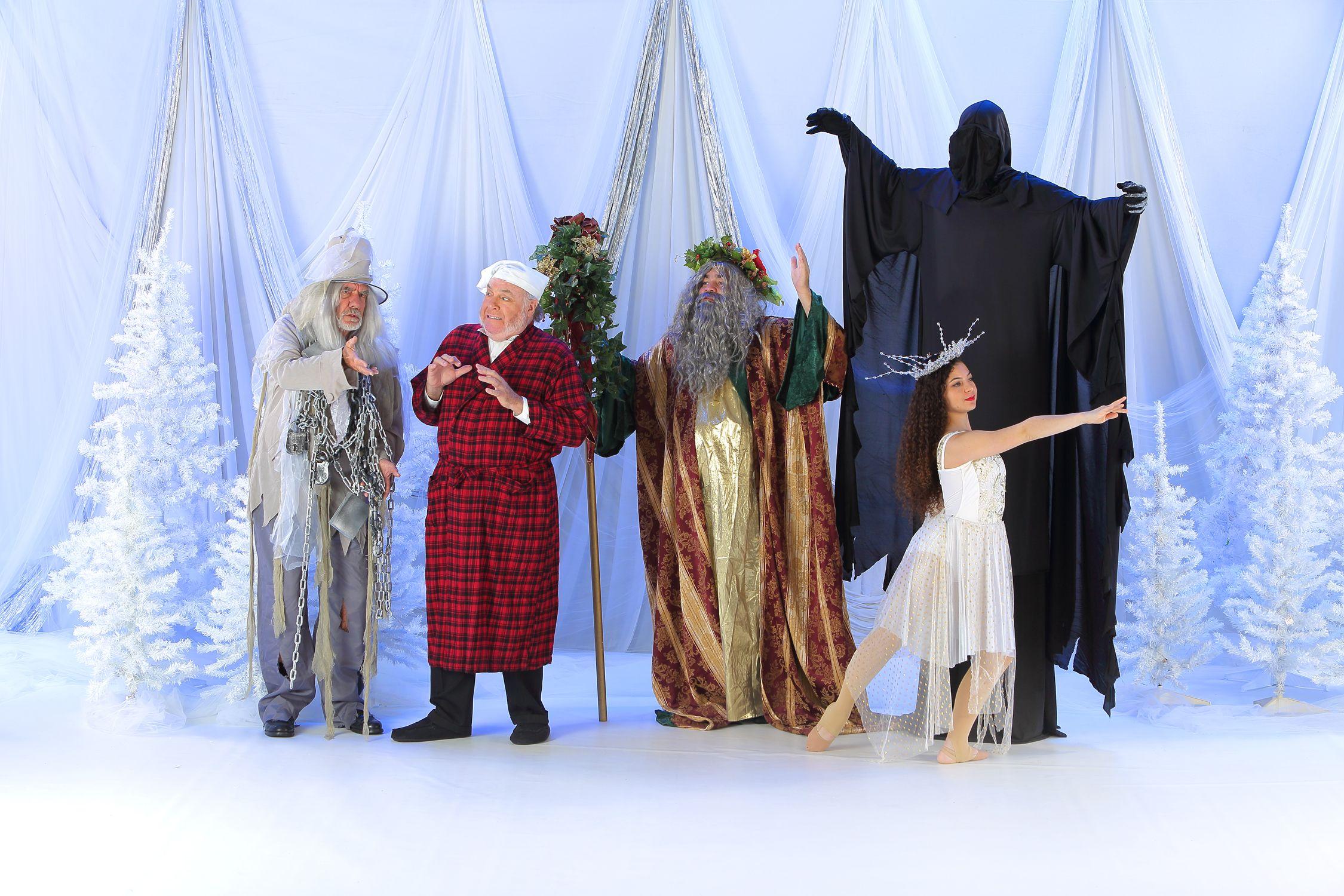 Scrooge, Marley and Christmas Spirit