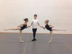 Ballet Partner Training