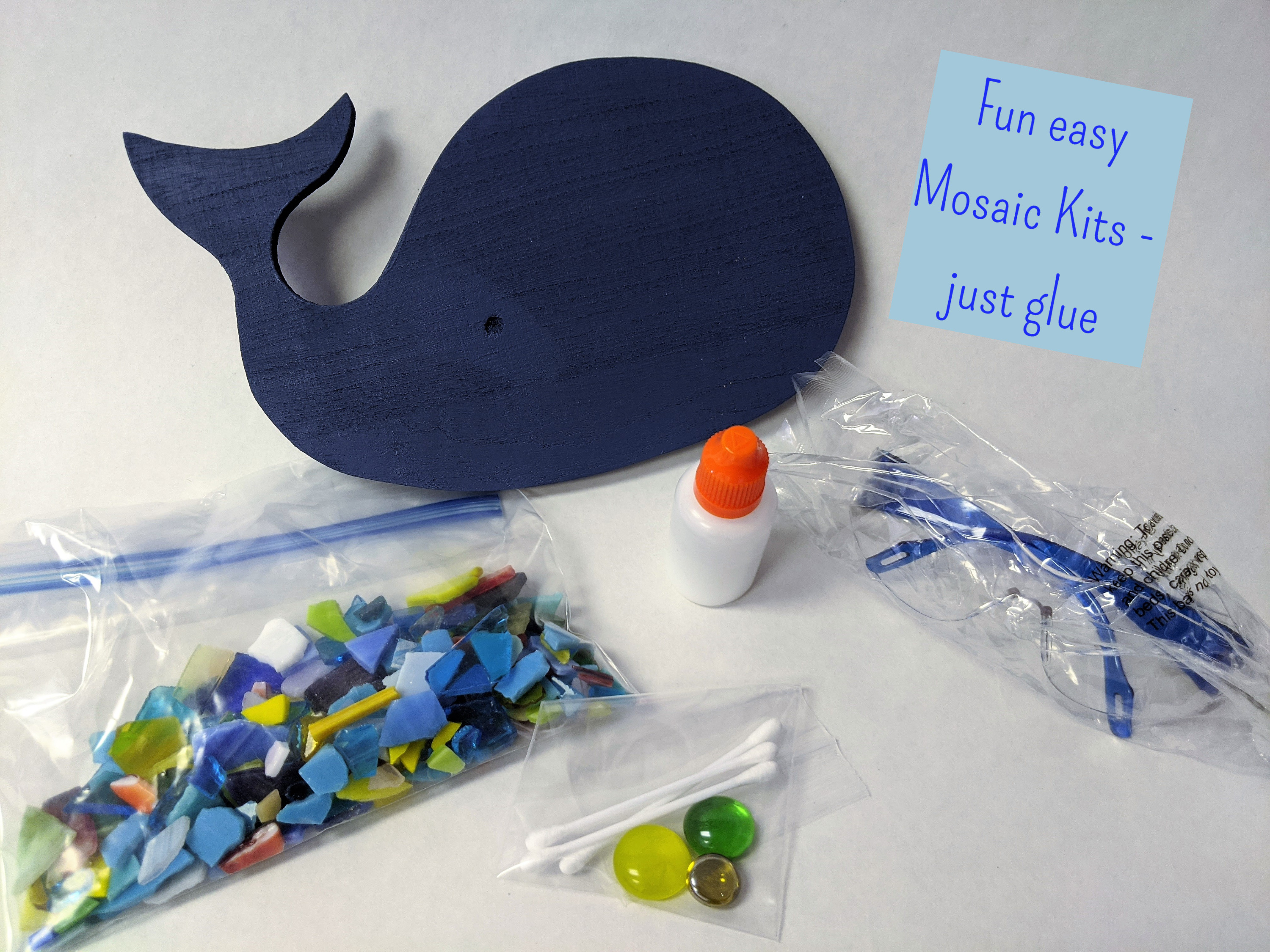 Mosaic Beginner Kits - just glue, no grout