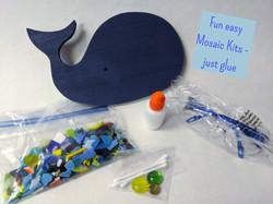 Mosaic Beginner Kits - just glue, no grout
