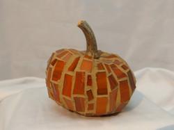 Classic orange mosaic tile Pumpkin