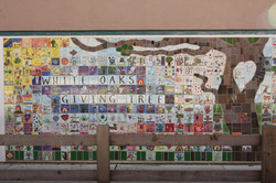 White Oaks School Giving Tree Wall