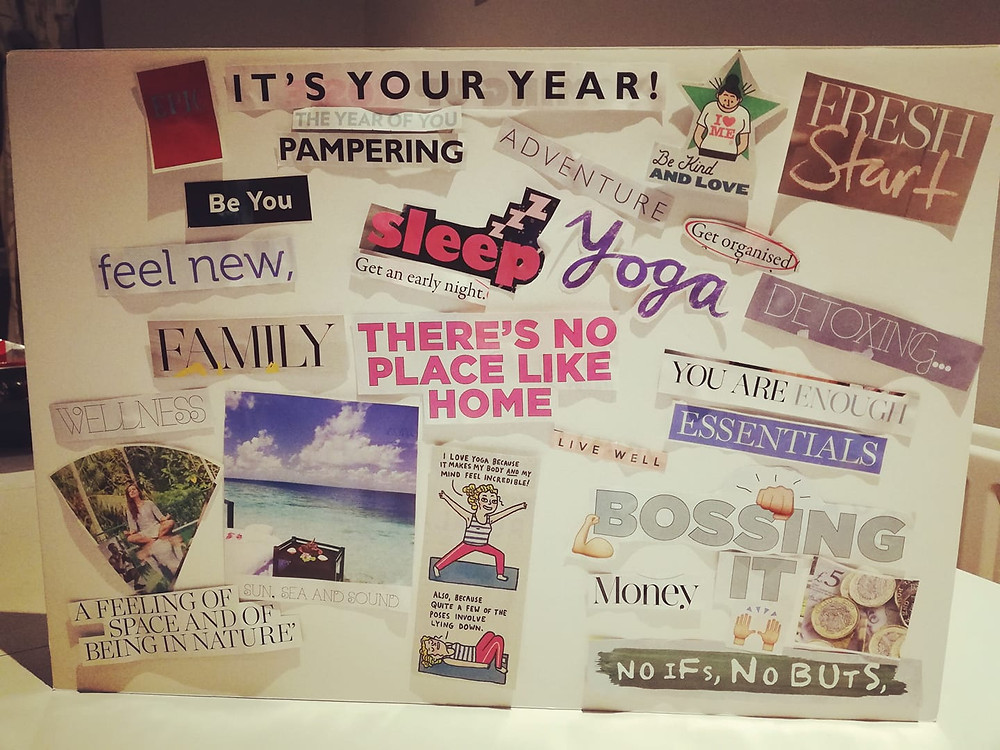 My intention board for 2019!