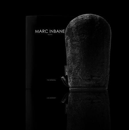 hanschoen met verpakking zwart reflectie