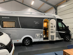 Dethleffs Black Magic Edition camper met automaat A7campers Friesland