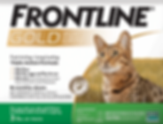 Tritak Frontline kills fleas and ticks