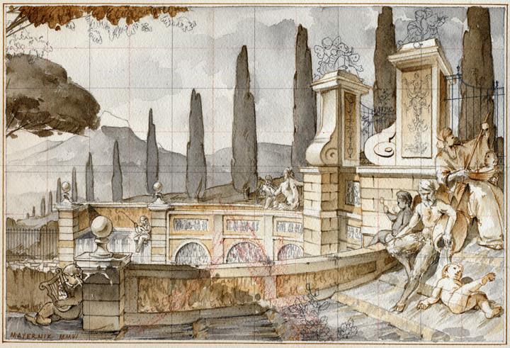 Capriccio: Il Teatro d'Acqua