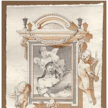 Design for a Frame for the Pietà