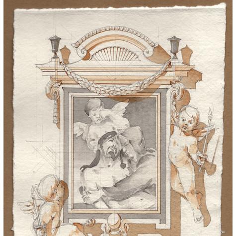 Frame for the Pietà
