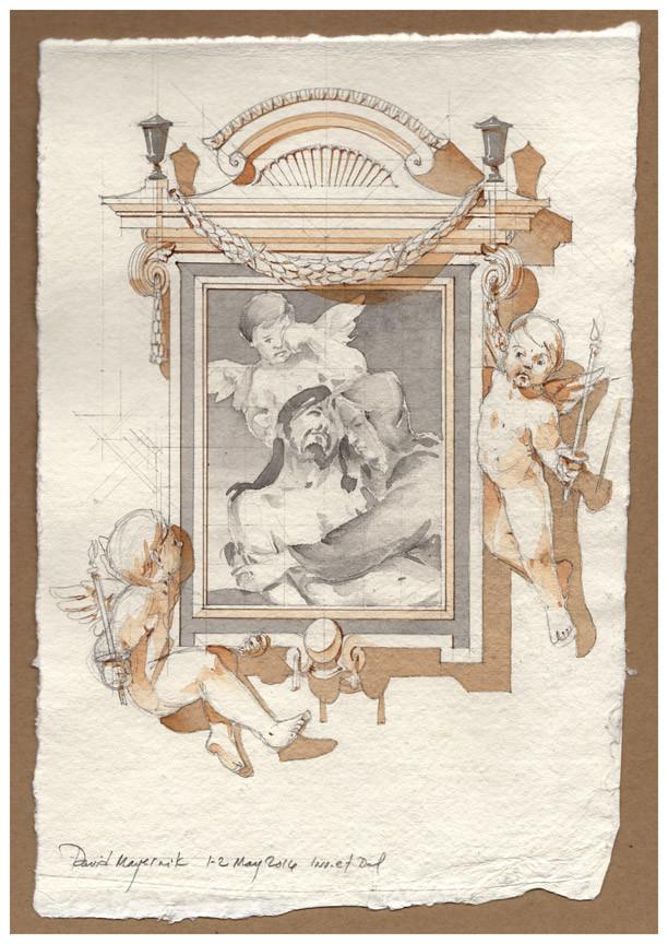 Pietà Frame