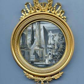 Capriccio I in a Bronze Frame