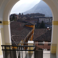View from La Lanterna toward Lake Lugano