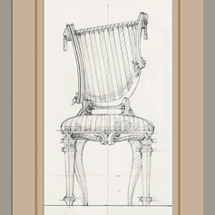 Lyre Back Chair