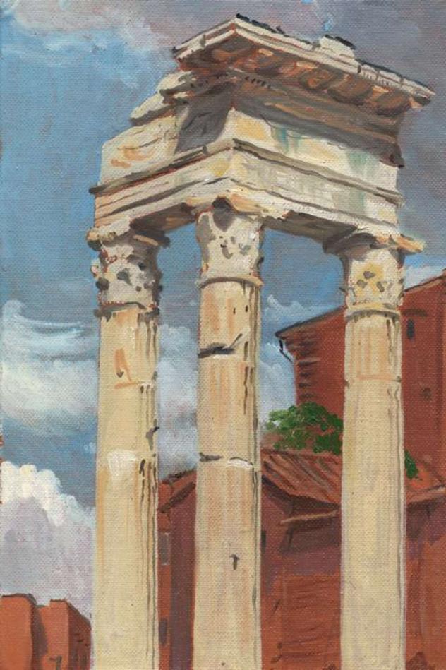 Columns, Temple of Apollo