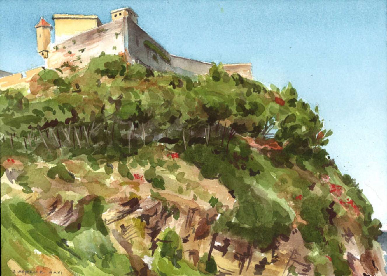 Forte Falcone, Elba