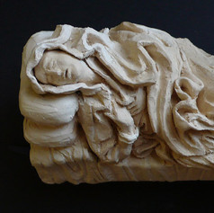 Copy of Ludovica Albertoni by Bernini