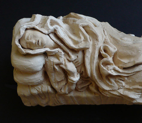 Copy of Ludovica Albertoni by Bernini
