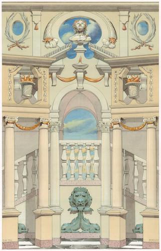 Dido palace backcloth