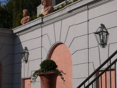 Piazza wall