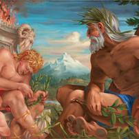 Apollo, Peneus and Daphne