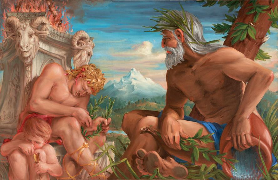Apollo, Daphne and Peneus