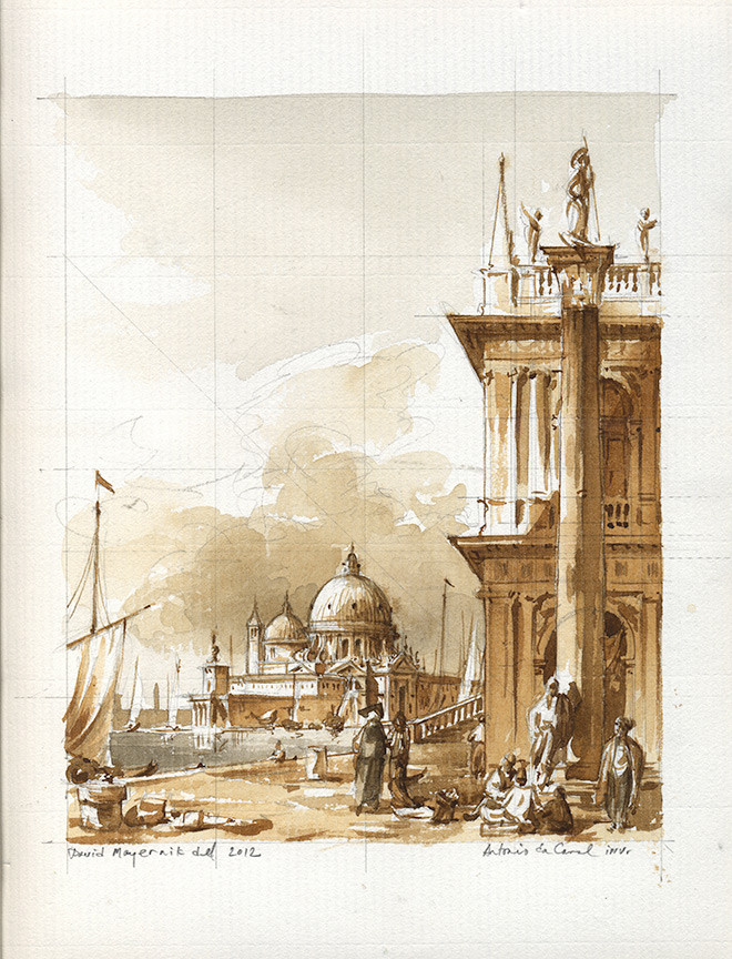 Emulation after Canaletto