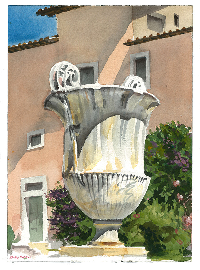 Urn, Santa Cecilia