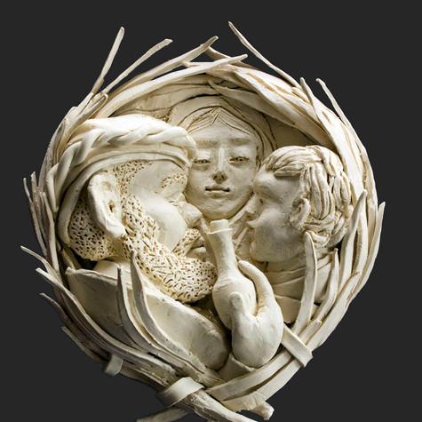 Balthasar, Madonna and Child