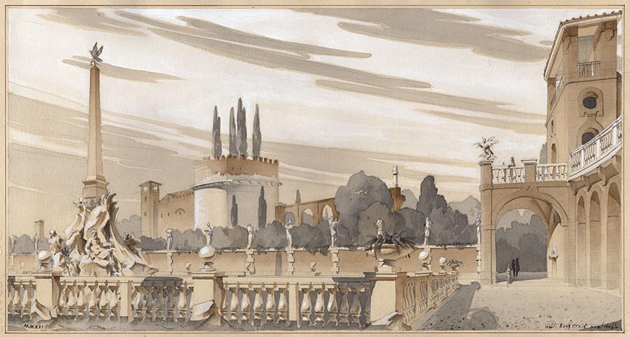 Capriccio: Villa of Maxentius