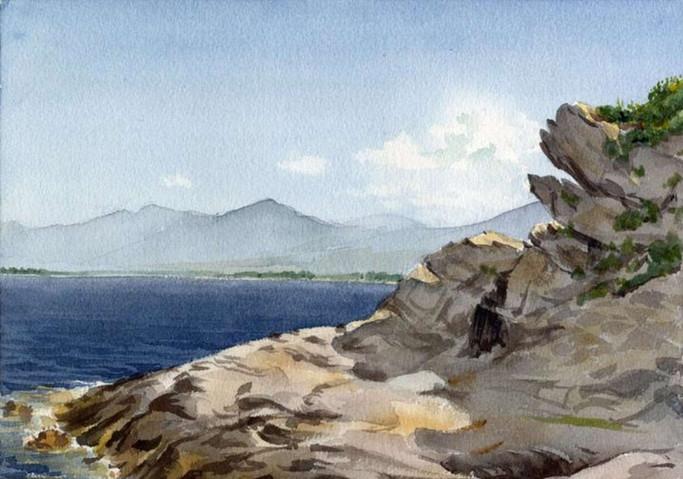 Rocks, Bastia, Corsica