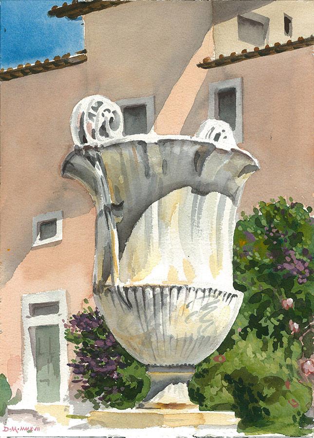 Urn, S. Cecilia
