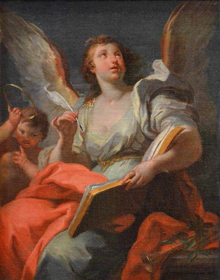 Baroque allegorical painting