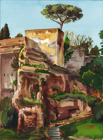 Tarpeian Rock, Rome