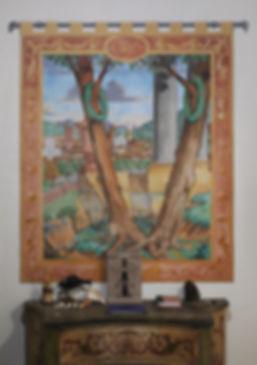 Frescoed Tapestry