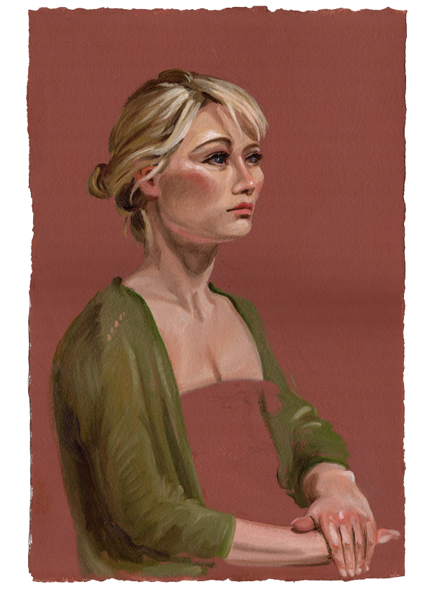 Portrait on a Ground
