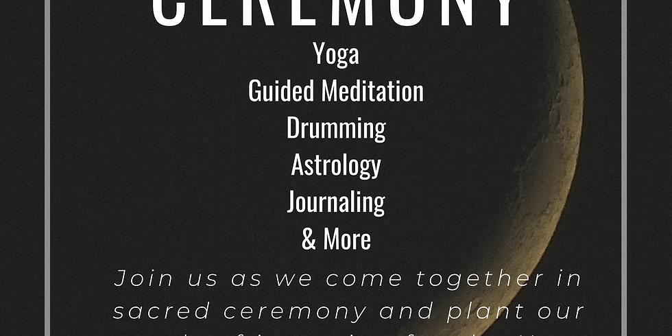 New Moon Ceremony with Jamie Thrasher & Vika Bradford