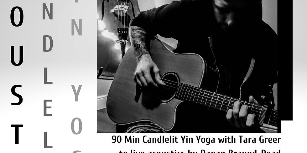 Warm Candlelit Yin & Live Acoustics