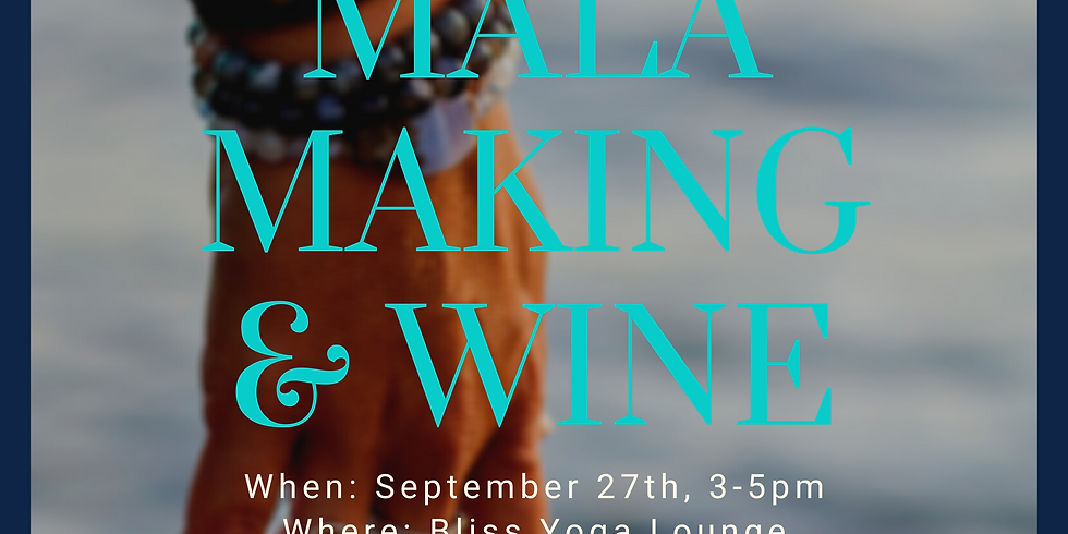 Mala Making & Wine with Carol Domanko of Shakti Bling