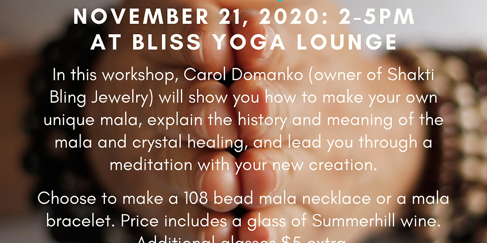 The Making & Meaning of Mala with Carol Domanko