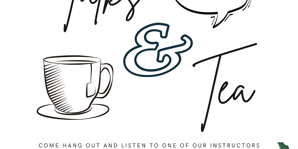 Talks & Tea