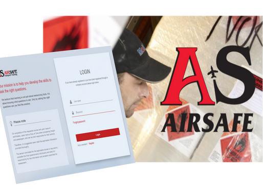 AIRSAFE Delivers a New online training delivery system
